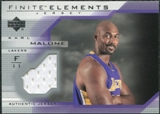2003/04 Upper Deck Finite Elements Jerseys #FJ7 Karl Malone