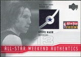 2003/04 Upper Deck All-Star Weekend Authentics #ASSN Steve Nash