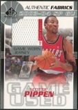 2003/04 Upper Deck SP Game Used Authentic Fabrics #SPJ Scottie Pippen