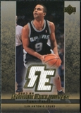2003/04 Upper Deck Rookie Exclusives Jerseys #J32 Tony Parker