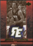 2003/04 Upper Deck Rookie Exclusives Jerseys Variation #J33 Steve Nash