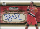 2004/05 Upper Deck All-Star Lineup Signature Class #SA Shareef Abdur-Rahim Autograph