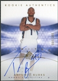2004/05 Upper Deck SP Authentic Limited #152 Antonio Burks Autograph /100