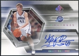 2004/05 Upper Deck SP Authentic Signatures #AK Andrei Kirilenko Autograph