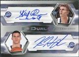 2004/05 Upper Deck SP Authentic Signatures Dual #KH Andrei Kirilenko/Kris Humphries Autograph /25