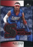 2004/05 Upper Deck Sweet Shot Swatches #AI Allen Iverson