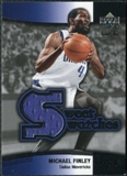 2004/05 Upper Deck Sweet Shot Swatches #MF Michael Finley