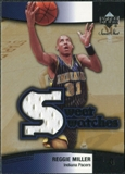 2004/05 Upper Deck Sweet Shot Swatches #RM Reggie Miller