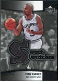 2004/05 Upper Deck Sweet Shot Swatches #TP Tony Parker