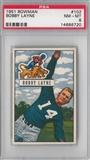 1951 Bowman Football Bobby Layne PSA 8 (NM-MT) *6720