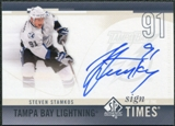 2010/11 Upper Deck SP Authentic Sign of the Times #SOTSS Steven Stamkos Autograph