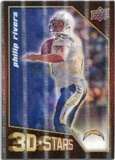 2009 Upper Deck 3D Stars #3D31 Philip Rivers