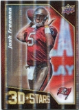 2009 Upper Deck 3D Stars #3D36 Josh Freeman