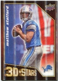 2009 Upper Deck 3D Stars #3D39 Matthew Stafford