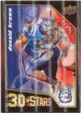 2009 Upper Deck 3D Stars #3D40 Donald Brown