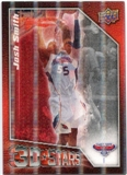 2009/10 Upper Deck 3D NBA Stars #3DSM Josh Smith