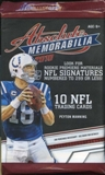 2010 Panini Absolute Memorabilia Football Retail 24-Pack Lot