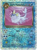 Pokemon Legendary Collection Single Dark Vaporeon 9/110 - Reverse Holo