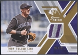 2009 SPx #GJTT Troy Tulowitzki Game Patch #94/99