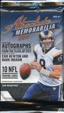 2011 Panini Absolute Memorabilia Football Retail Pack