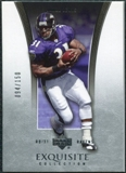 2005 Upper Deck Exquisite Collection #3 Jamal Lewis /150