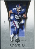 2005 Upper Deck Exquisite Collection #26 Jeremy Shockey /150
