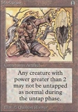 Magic the Gathering Alpha Single Meekstone UNPLAYED (NM/MT)