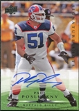 2008 Upper Deck Signature Shots #SS6 Paul Posluszny Autograph