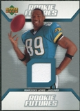 2006 Upper Deck Rookie Futures Jerseys #RFLE Marcedes Lewis