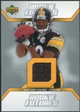 2006 Upper Deck Rookie Futures Jerseys #RFSH Santonio Holmes