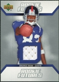 2006 Upper Deck Rookie Futures Jerseys #RFSM Sinorice Moss