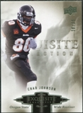 2010 Upper Deck Exquisite Collection #17 Chad Johnson /35