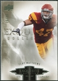 2010 Upper Deck Exquisite Collection #22 Clay Matthews /35