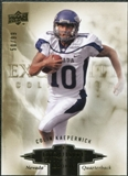 2010 Upper Deck Exquisite Collection Draft Picks #ERCK Colin Kaepernick RC /99