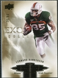 2010 Upper Deck Exquisite Collection Draft Picks #ERLH Leonard Hankerson /99