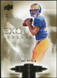2010 Upper Deck Exquisite Collection Draft Picks #ERPD Pat Devlin /99