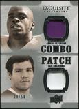 2010 Upper Deck Exquisite Collection Patch Combos #PB Adrian Peterson Sam Bradford /50