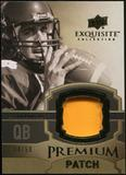 2010 Upper Deck Exquisite Collection Premium Patch #EPPAR Aaron Rodgers /50