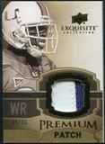 2010 Upper Deck Exquisite Collection Premium Patch #EPPRW Reggie Wayne /35