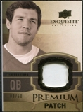2010 Upper Deck Exquisite Collection Premium Patch #EPPSB Sam Bradford /50