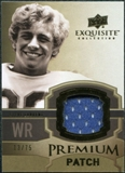 2010 Upper Deck Exquisite Collection Premium Patch #EPPSL Steve Largent /75