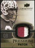 2010 Upper Deck Exquisite Collection Premium Patch #EPPSY Steve Young /75