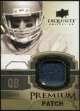 2010 Upper Deck Exquisite Collection Premium Patch #EPPTA Troy Aikman /75