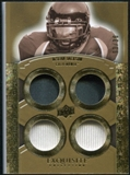 2010 Upper Deck Exquisite Collection Rare Materials #ERMDJ DeSean Jackson /30