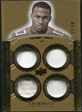 2010 Upper Deck Exquisite Collection Rare Materials #ERMES Emmanuel Sanders /60