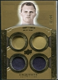 2010 Upper Deck Exquisite Collection Rare Materials #ERMJC Jimmy Clausen /60