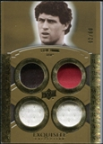 2010 Upper Deck Exquisite Collection Rare Materials #ERMSY Steve Young /60