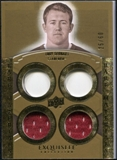 2010 Upper Deck Exquisite Collection Rare Materials #ERMTG Toby Gerhart /60