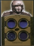 2010 Upper Deck Exquisite Collection Rare Materials #ERMTR Tony Romo /60