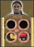2010 Upper Deck Exquisite Collection Rare Materials Gold #ERMAE Armanti Edwards 1/10